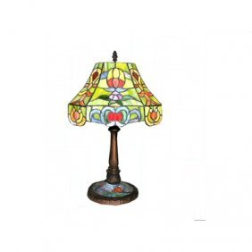 Warehouse Of Tiffany 17-in Table Lamp With Shade