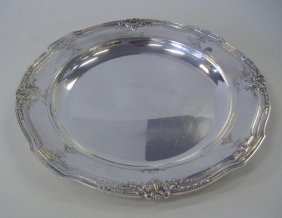 "Reed & Barton 14"" Sterling Serving Tray"