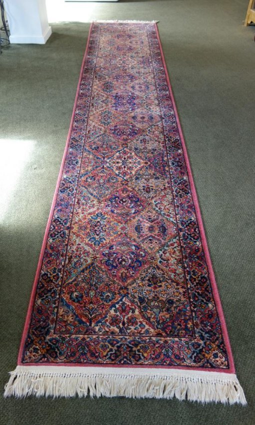 Karastan Wool Runner 15 6 Quot Long Lot 173
