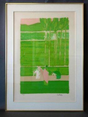 Bernard Cathelin (1919-2004) Figures