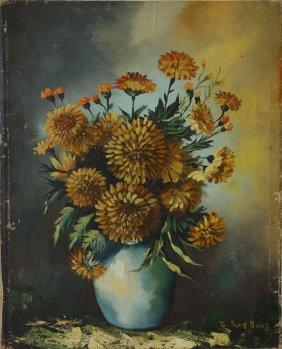 Korean Oil Painting, Signed, To Sang Bon