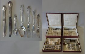 Continental Silverplate Flatware, 100 Gram Plating