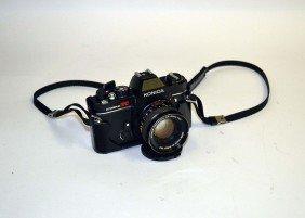 Konica Autoreflex TC Camera W/ A Konika Hexanon AR