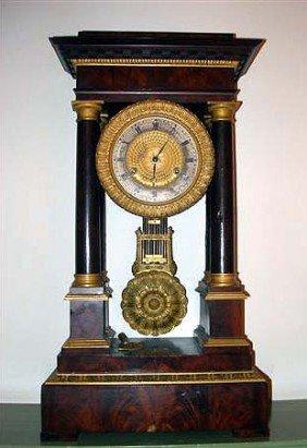 Empire Mantel Clock