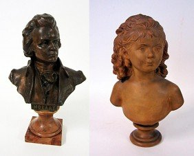 Two Bust Sculptures
