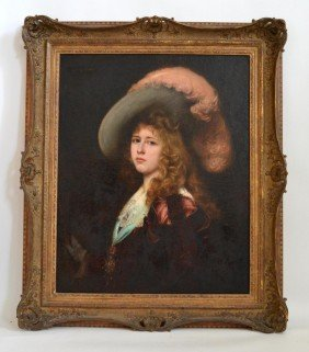 Gabriel Ferrier Portrait, 1847-1914