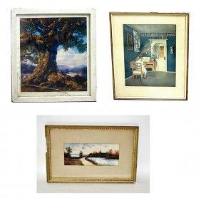 Three Decorative Prints