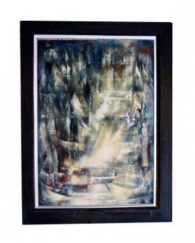 Margaret Beck Oil On Canvas