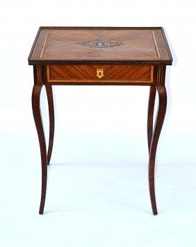 Italian 19th C. Inlaid Table