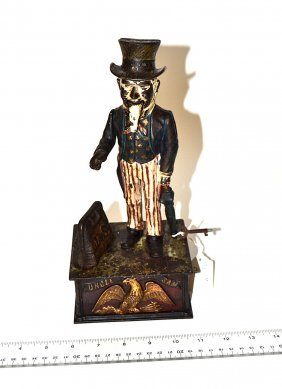 "Shepard Hardware ""Uncle Sam"" Mechanical Bank"