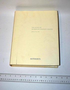 Jacqueline Kennedy Onassis, Estate Catalog