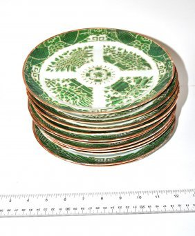 Set Of 12 Chinese Export Plates