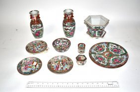 Assorted Chinese & Japanese Porcelain [12 Items]