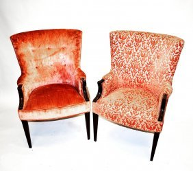 Two Mahogany Chairs