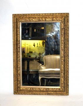 Renaissance Style Gilt Mirror