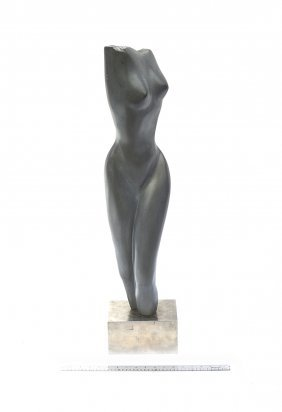 Modern Abstract Soapstone Sculpture