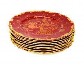 11 Coalport Porcelain Plates