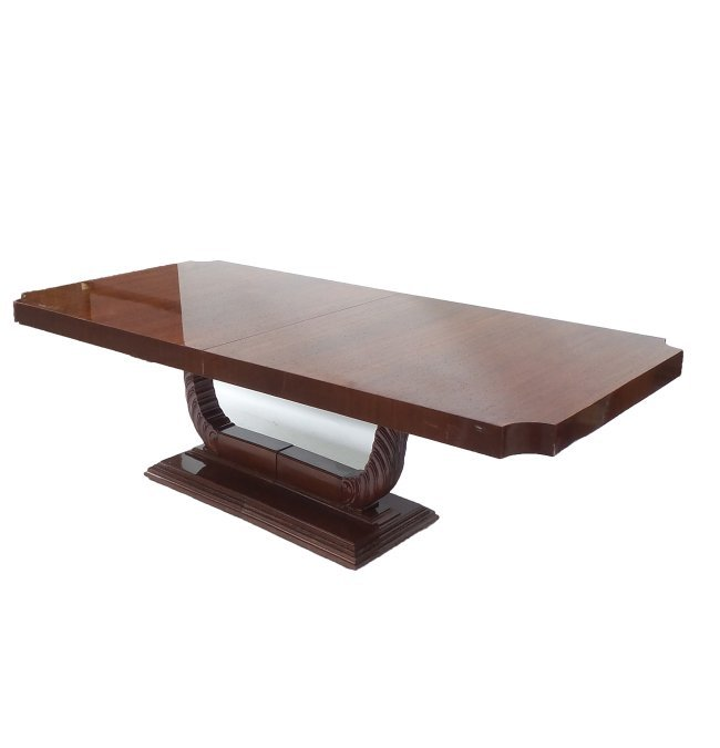 Modern Mahogany Dining Table Lot 226 : 413712191l from www.liveauctioneers.com size 650 x 675 jpeg 21kB