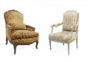 Two French Armchairs