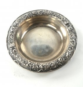 S. Kirk & Sons Sterling Candy Dish