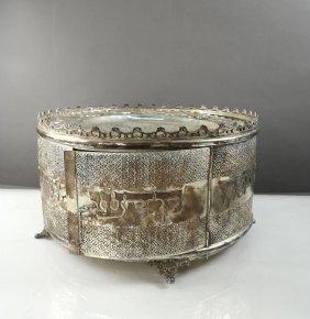Silver Seder Case