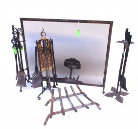 Fireplace Accessories And Fire Screen