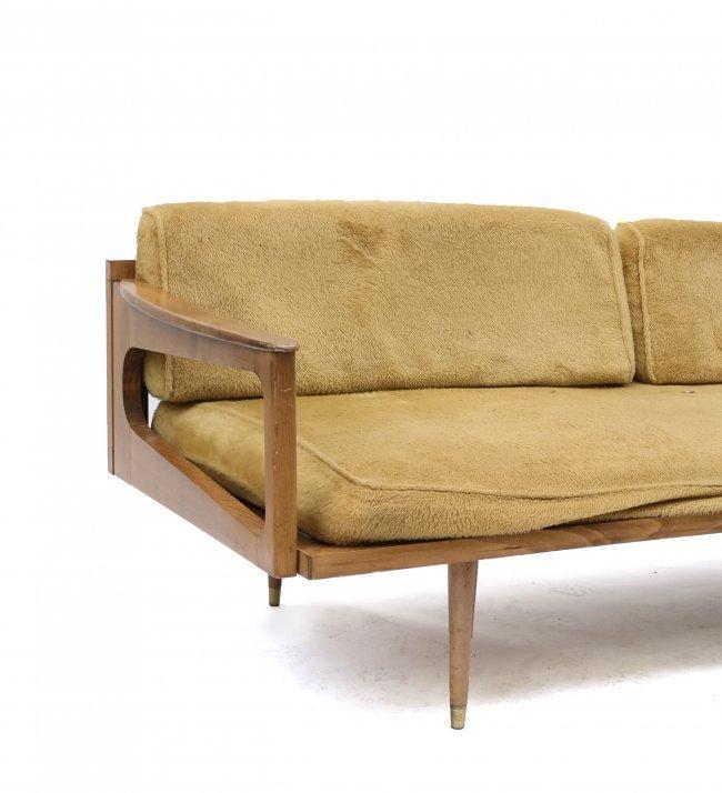 Mid Century Modern Convertible Sofa Lot 677