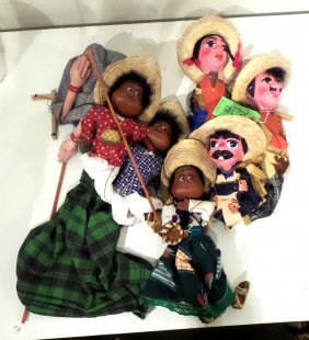 Group Of Seven Puppets