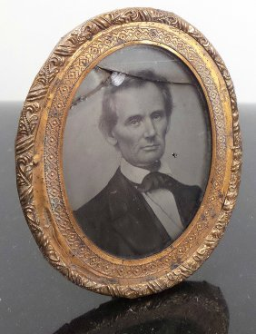 Lincoln - 1860 George Clark Ambrotype Pin