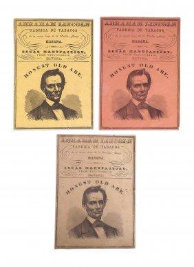 Lincoln - Cigar Box Labels (3)