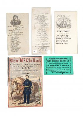 George Mcclellan - 1864 Campaign Ephemera