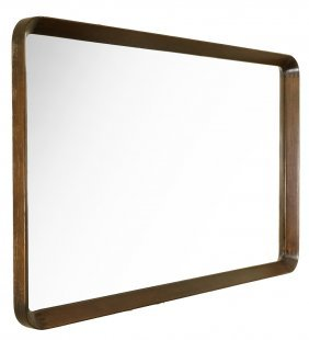 Mid-century Danish Teak Wall Mirror