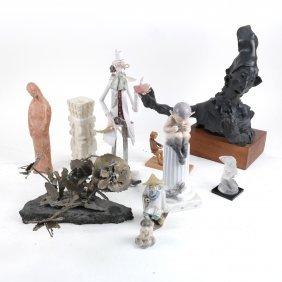 11 Decorative Figures And Sculptures