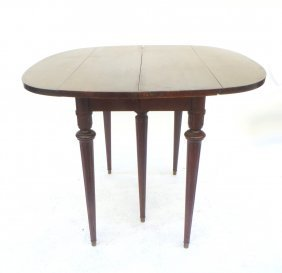 Mahogany Drop-leaf Dining Table