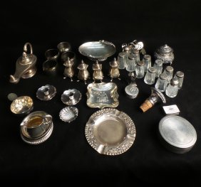 Silver, Glass, Silver Plate Articles