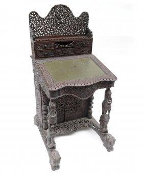 Burmese Captain's Desk