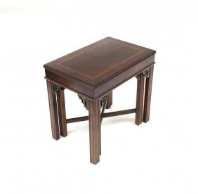 Lane Chippendale-style Nesting Tables