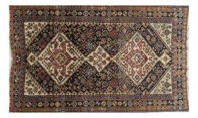 Antique Caucasian Kazar Rug