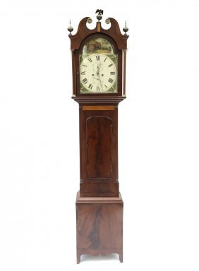 Mahogany Grandfather Clock