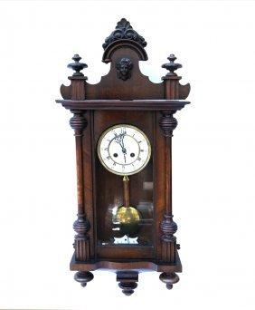 Victorian Wall Regulation Clock