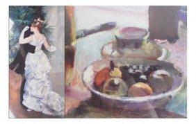 Two Prints: Renoir And Matisse