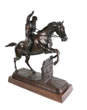Isidore Bonhuer, Bronze- Horse And Rider