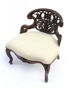 Victorian Rosewood Sidechair
