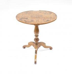 Antique Continental Circular Table