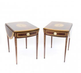 Pair Of Federal Style Pembroke Tables