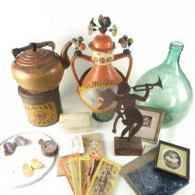 Assorted Group Of Decorative Items