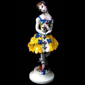 Russian Porcelain Dancer Figure