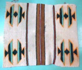 Hand Woven Amer. Indian Rug