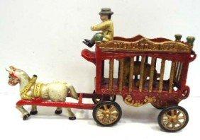 Cast Iron Overland Circus Wagon