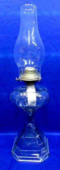Early Kerosene Or Oil Lamp